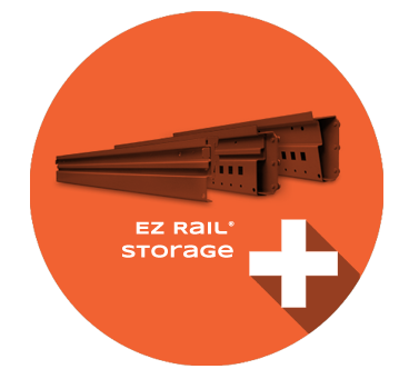 EZ Rail Storage Product Section