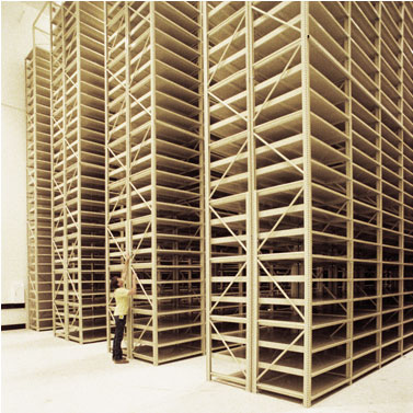 Stationary XTend High Bay Shelving