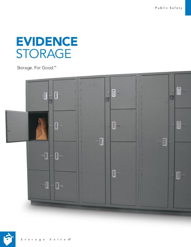Free Download Brochure: Evidence Storage Product Overview