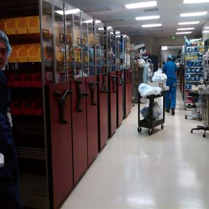 OR Storage at Naval Medical Center San Diego Gets an Upgrade