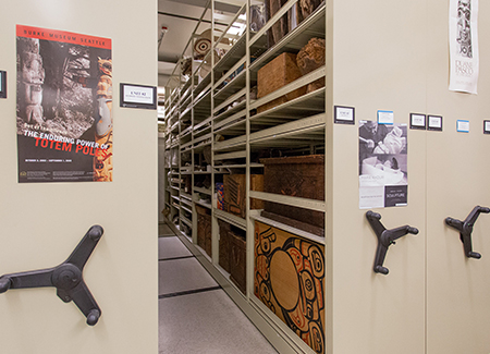 Archive Museum Storage Solutions with Compact Mobile Systems