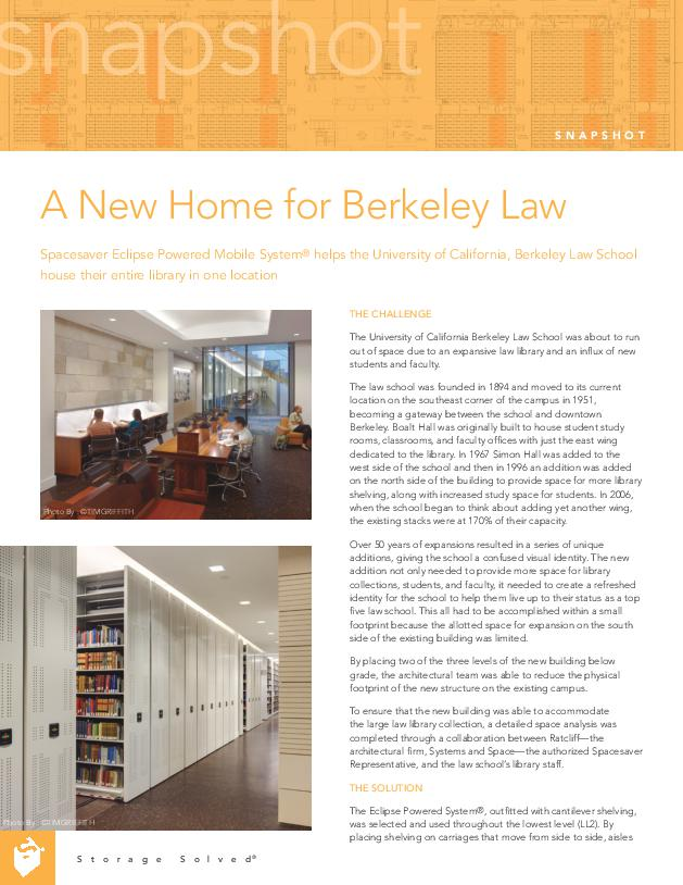 Free Download Case Study: University of California Berkeley Law School - Berkeley, CA