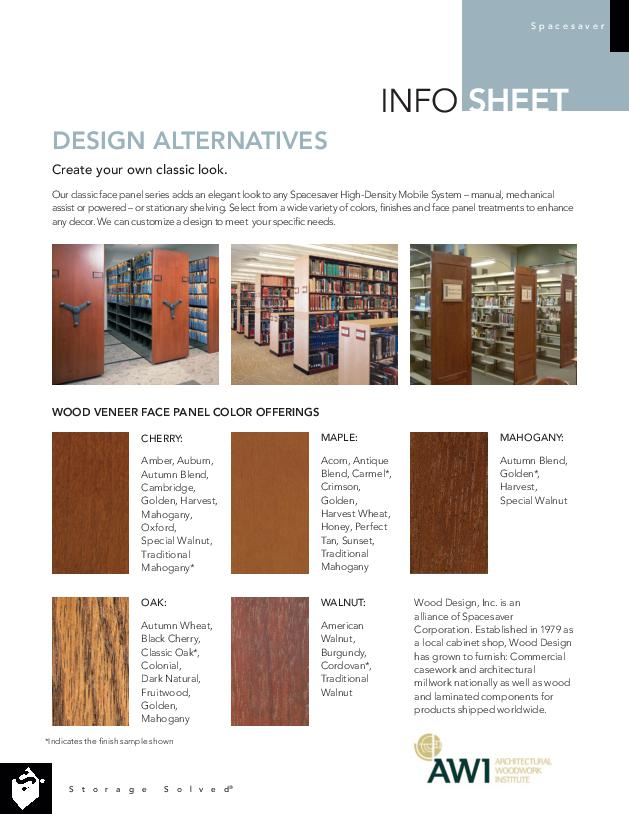 Free Download Info Sheet: Design Alternatives