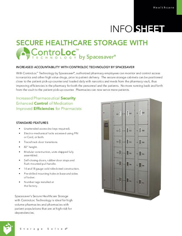 Free Download Info Sheet: ControLoc Healthcare