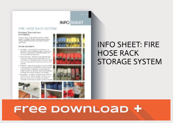 Free Download Info Sheet: Fire Hose Rack Storage System