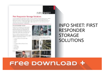 Free Download Info Sheet: First Responder Storage Solutions