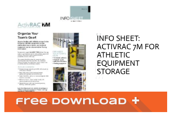 Free Download Info Sheet: ActivRAC 7M for Athletic Equipment Storage