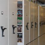 Museum Storage on Mechanical-Assist High-Density Mobile Storage, Strong National Museum of Play, Rochester, NY