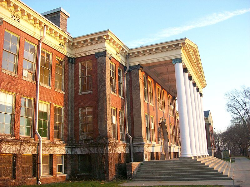 East Hall Building - One of the previous locations that the collections were being stored