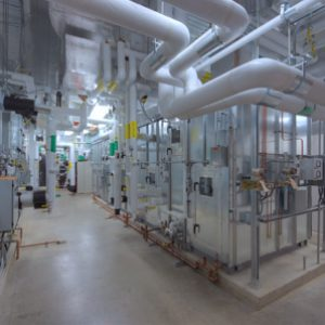 geothermal heating and cooling unit