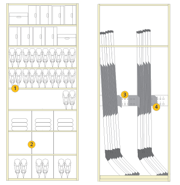 Hockey Shelving Configuration
