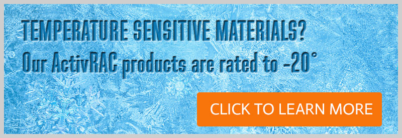Check how to store more temperature sensitive composite materials in less space