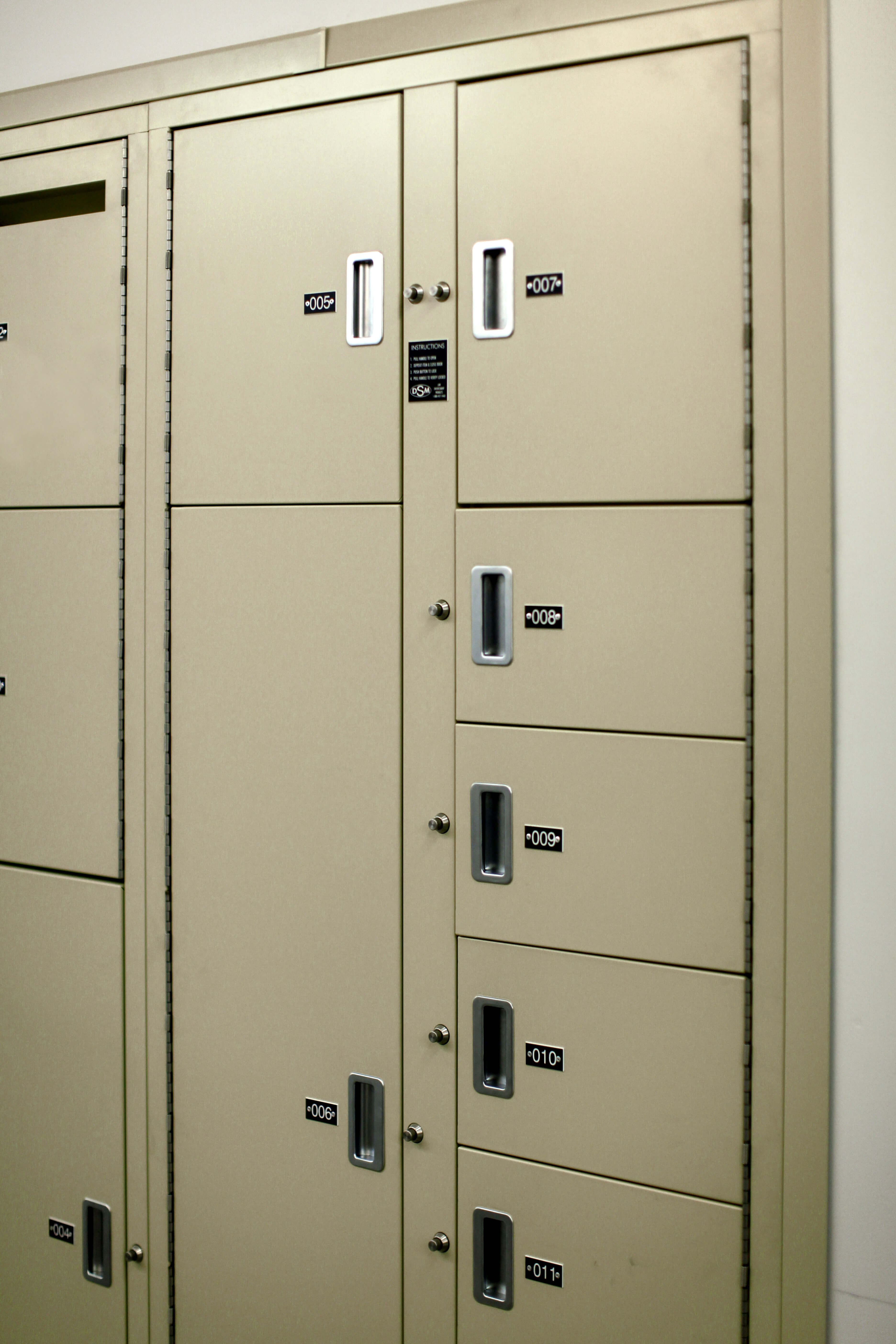 Short-term evidence storage at Bensalem Police Department