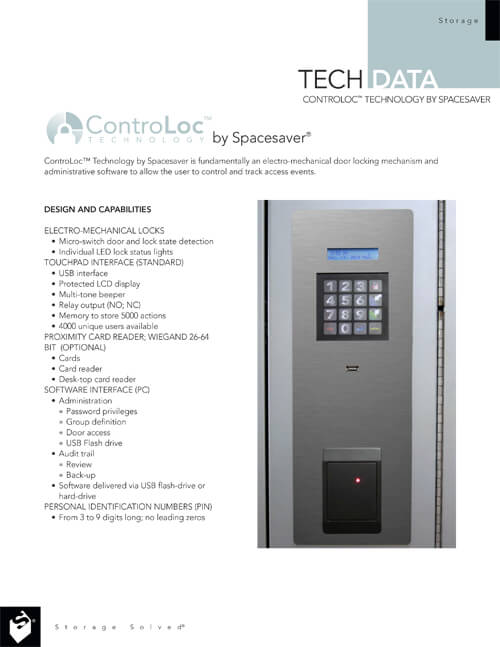 Download Tech Data ControLoc