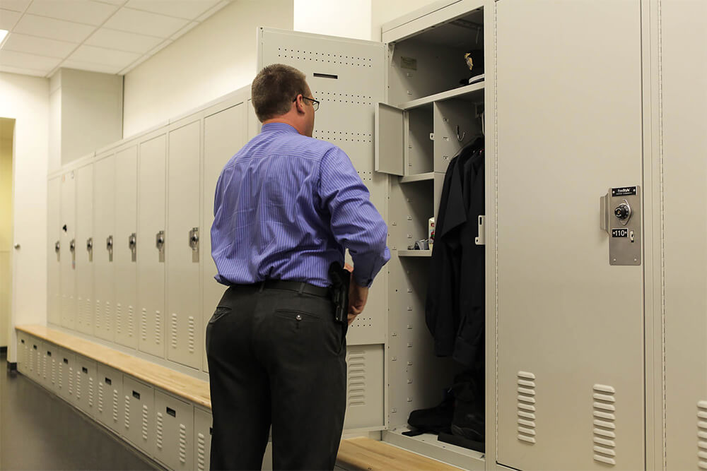Parker, Colorado Police Department Gear Lockers