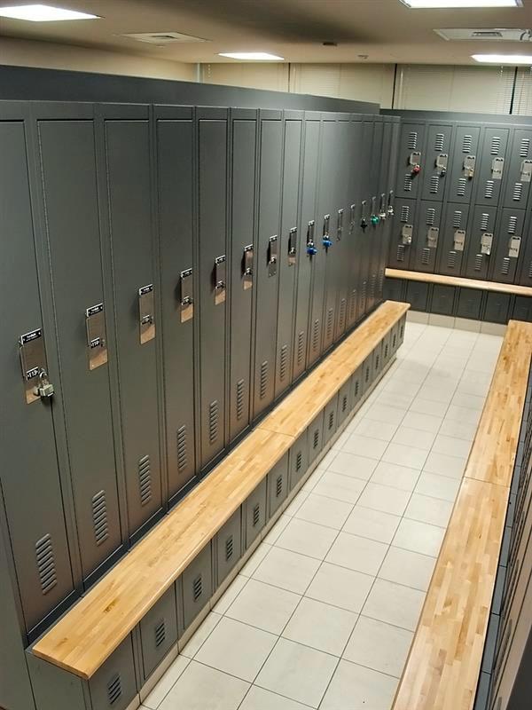 Two-Tier Personal Locker storage