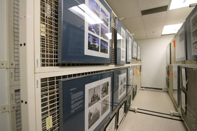Art Racks for Print at the Naval Undersea Museum