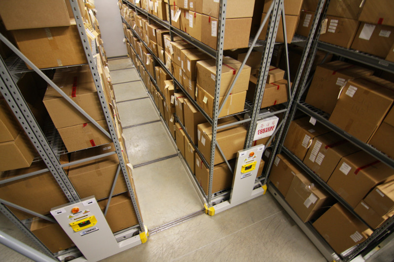 Long-Term Evidence Stored on Industrial Racking, Houston Police Department