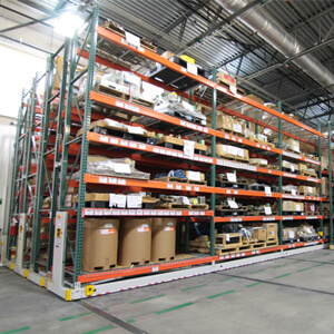 Industrial Mobile Racking Assists Southern Car Manufacturing Facility With Consolidation