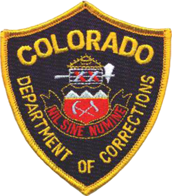Dept of Colorado Corrections Badge