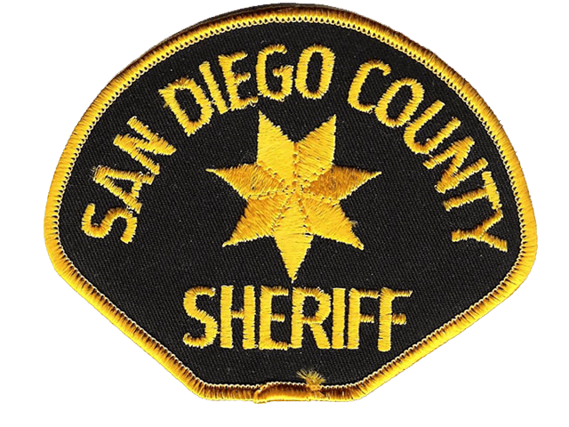 San Diego County Sheriff Badge