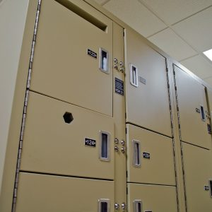 Guilford County Dentention Center Evidence Lockers