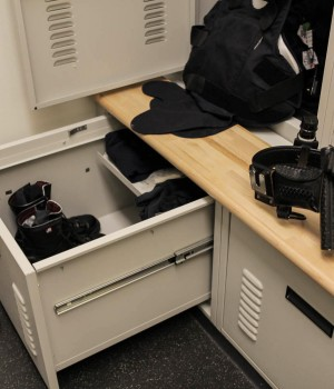 Personal Storage Lockers Parker Police Department