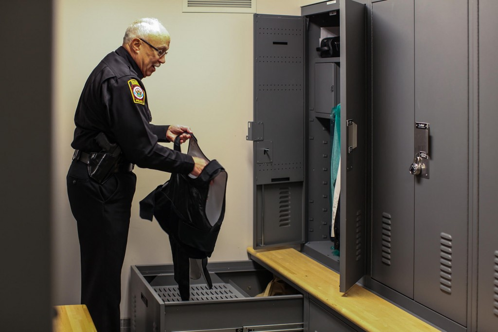 Success: Configurable Police Gear Lockers Create Comfort for Officers at Salisbury PD