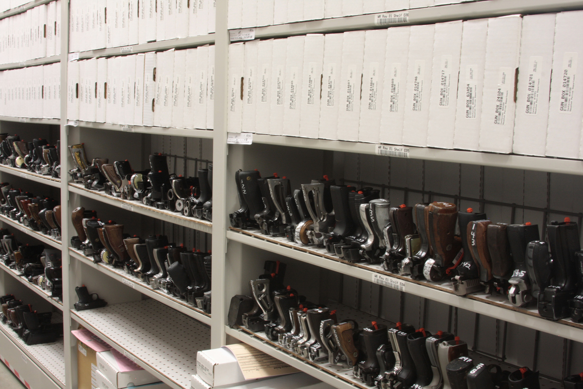 Handgun Storage at Houston Police Department