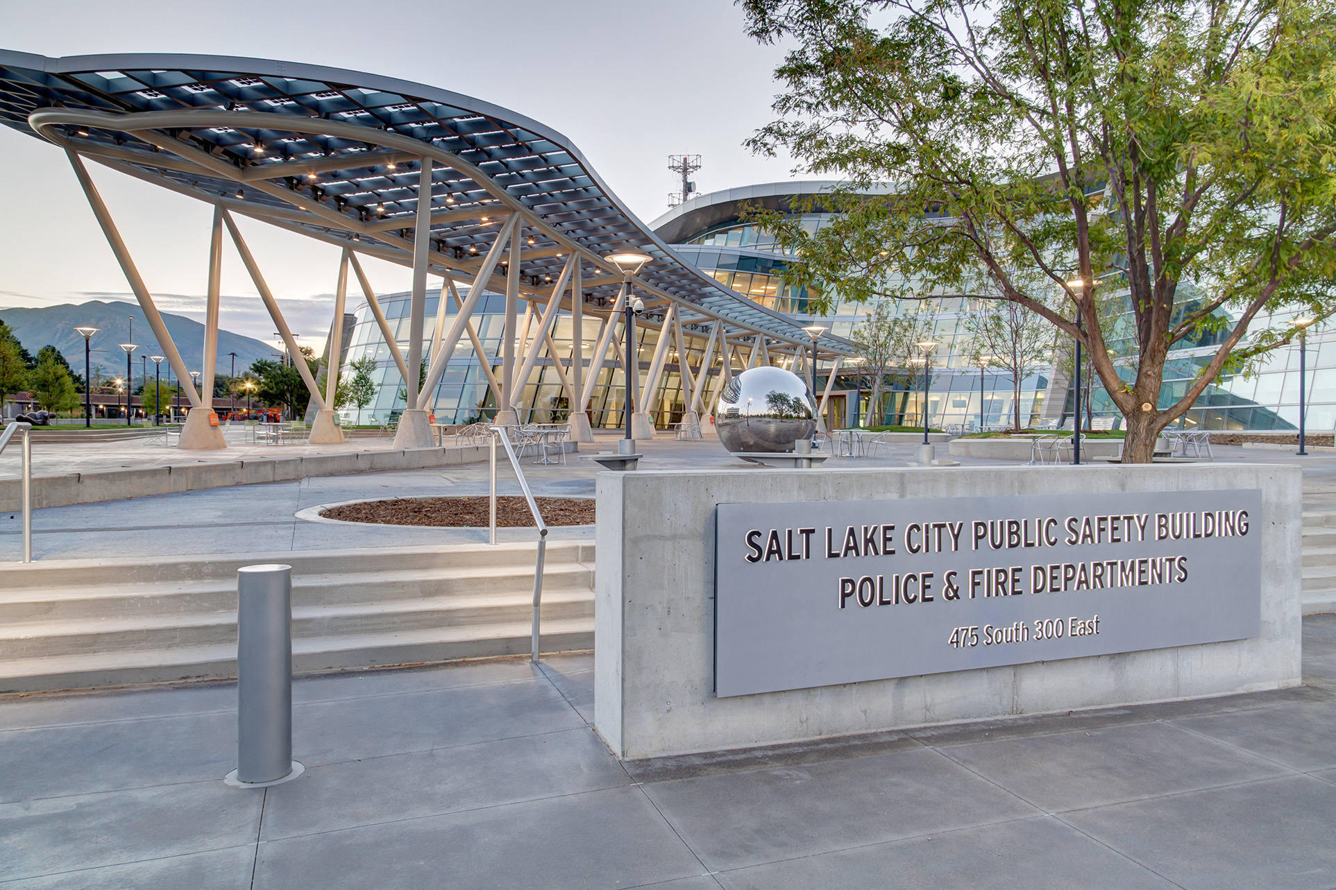 Salt Lake City Public Safety Building