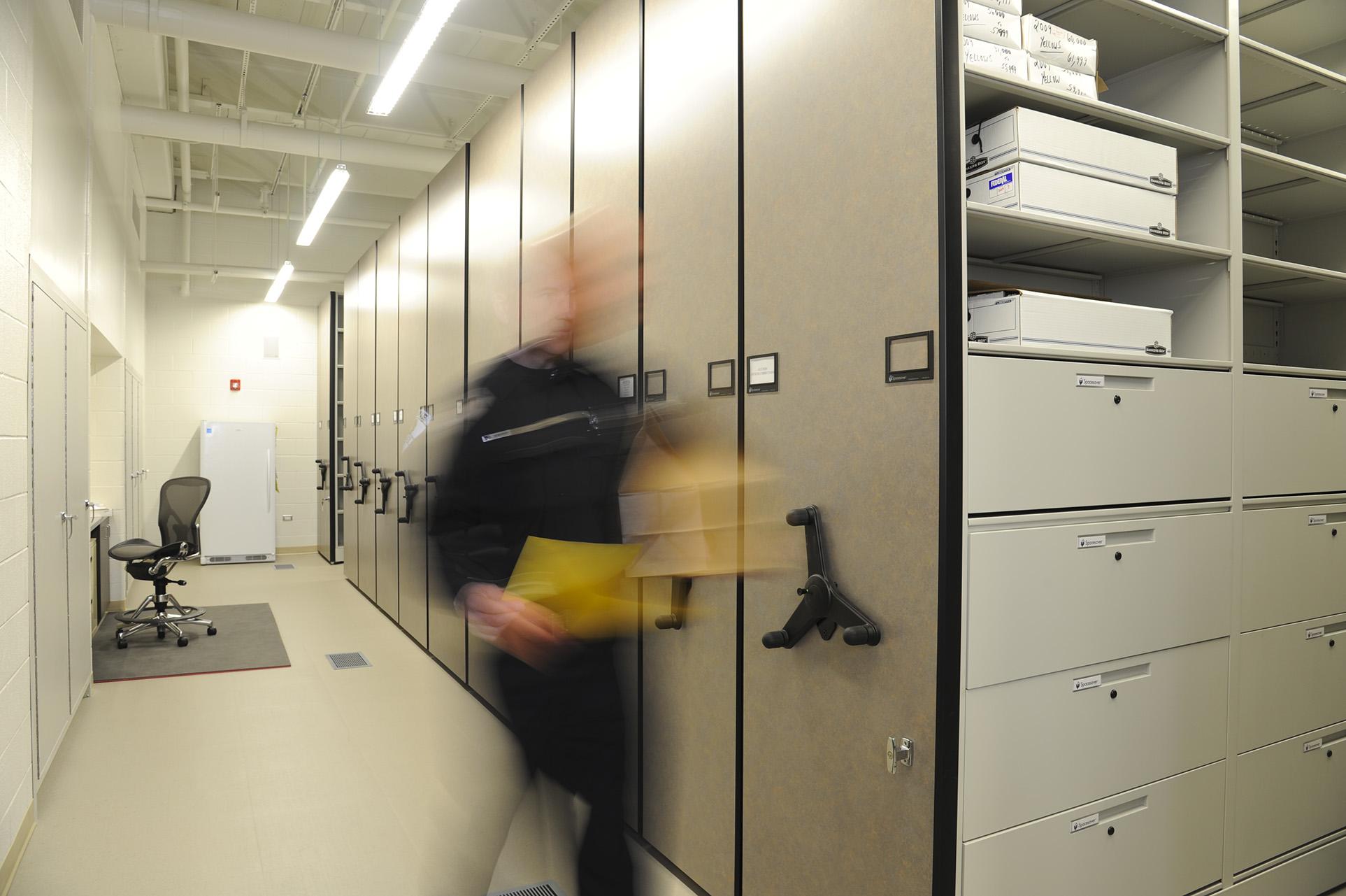 Mobile Storage for Evidence at Skokie Police Department