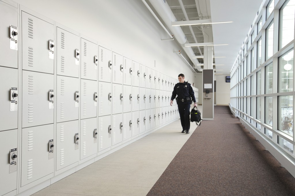 Tactical Gear Storage Lockers Skokie Police Department