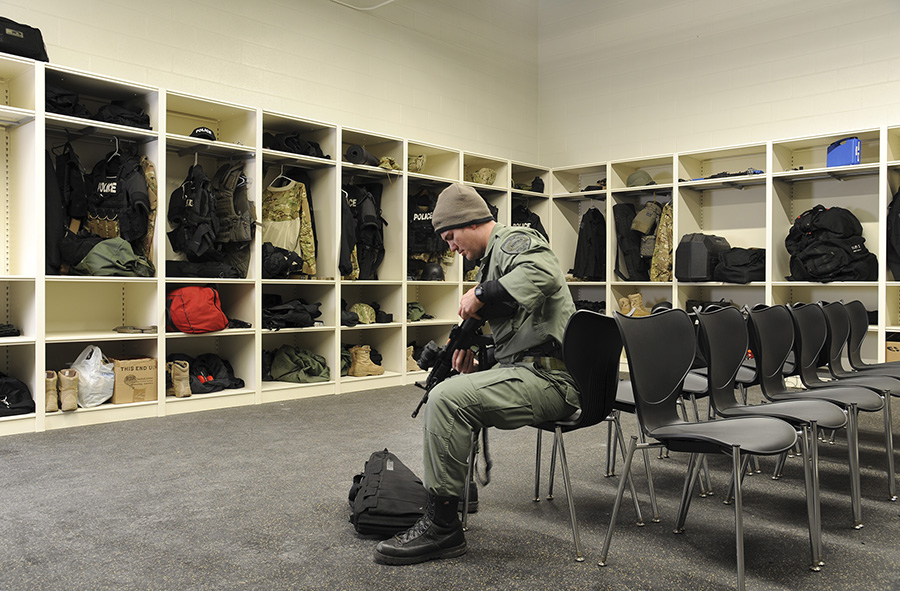 Tactical Unit Storage Skokie Police Department