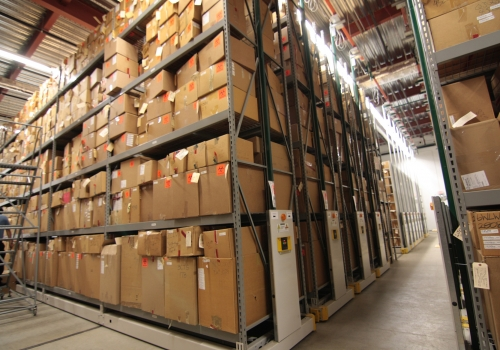compact evidence steel shelving systems