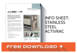 Free Download Info Sheet: Stainless Steel ActivRAC