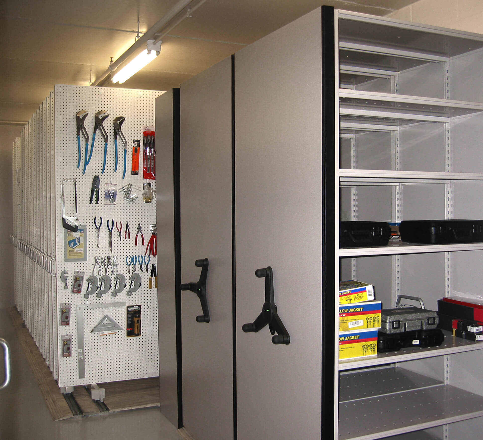Secure Corrections Facility Storage Extends To Tool Room