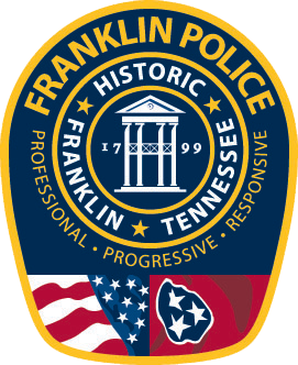 Franklin Police Department Badge