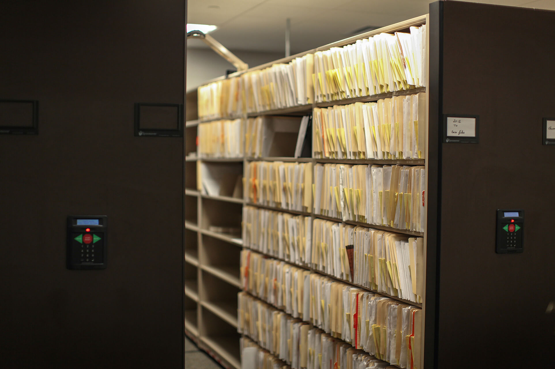 Secure record storage at Bensalem Police Department