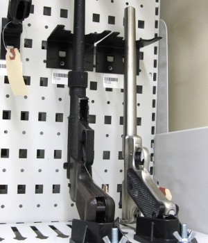 Short-term weapons storage at IL East Metro Forensic Lab