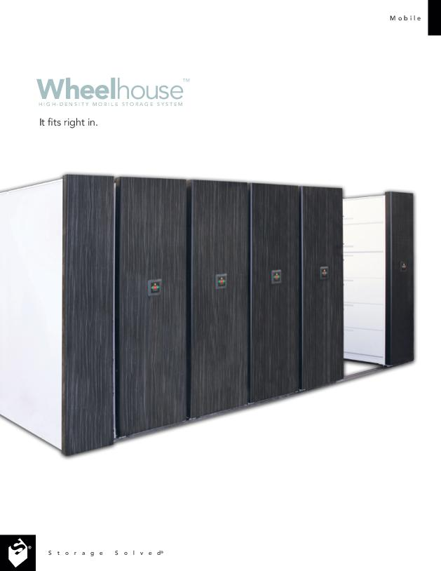 Free Download Brochure: Wheelhouse High-Density Mobile Storage