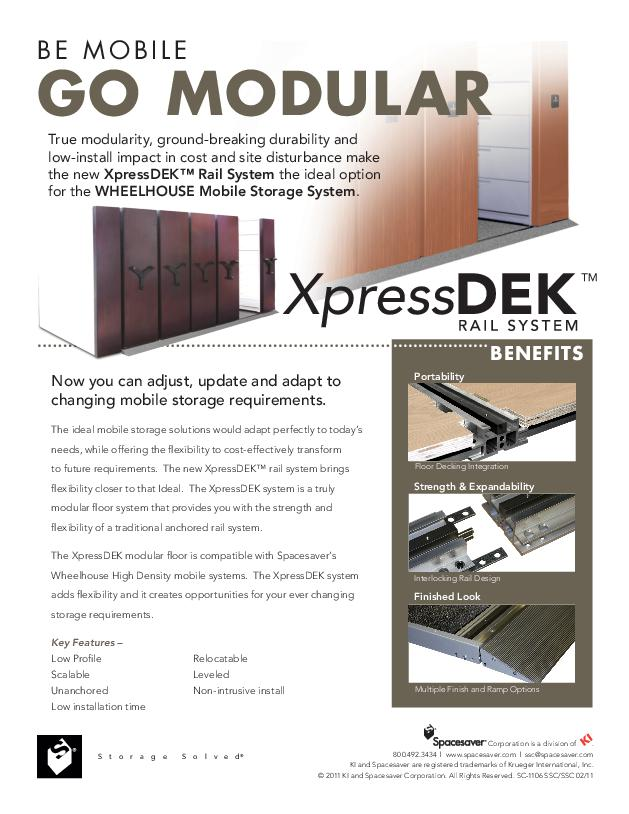 Free Download Info Sheet: XpressDEK Rail System