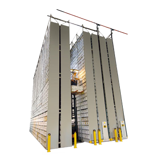 Off-site Mobile Shelving - XTend High-bay