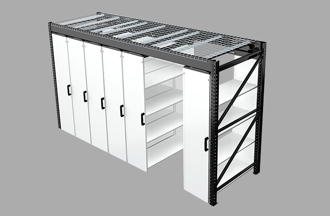 LevRack Public Safety Storage Solution