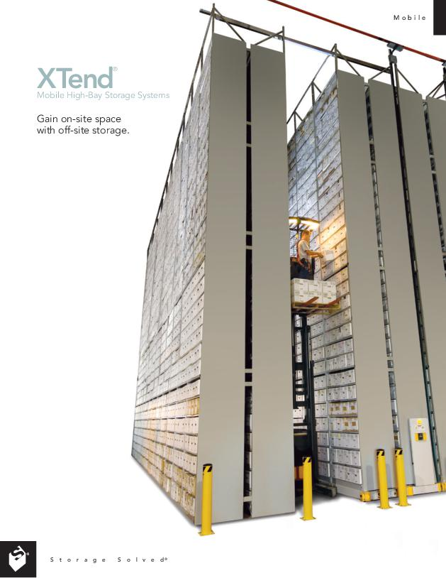 Free Download Brochure: Xtend Mobile High-Bay Storage System