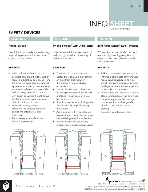 Free Download Info Sheet: Mobile Systems Safety Devices