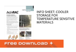Free Download Info Sheet: Cooler Storage for Temperature Sensitive Materials