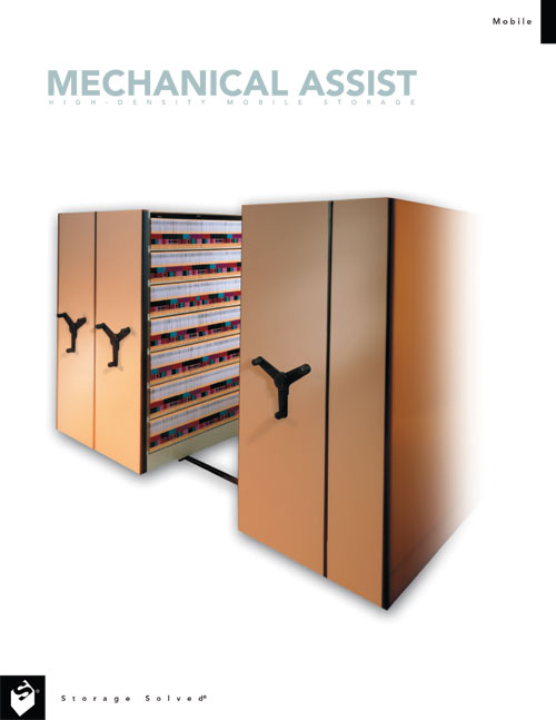 Mechanical Assist High-Density Mobile Storage Brochure