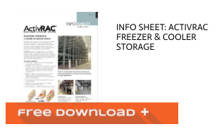 Free Download Info Sheet: ActivRAC Freezer & Cooler Storage