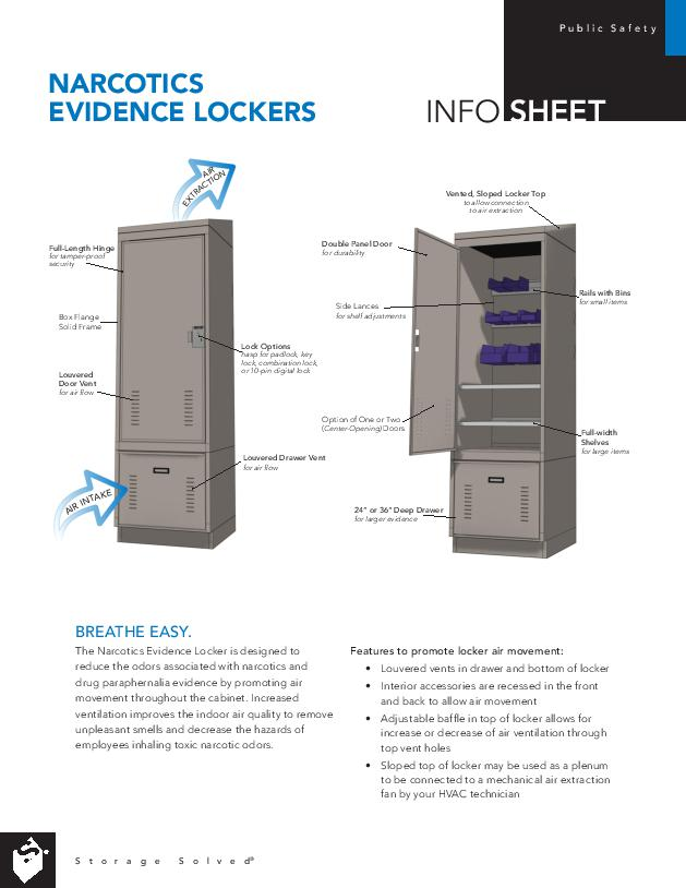 Info Sheet: Narcotics Evidence Lockers