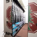 sports medicine supply and equipment storage at stanford university